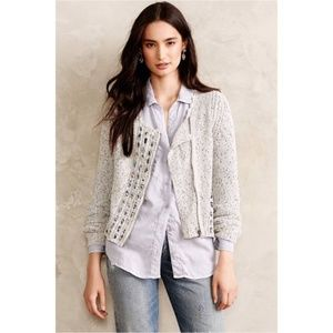 Knitted & Knotted Ribbon Ripples Cardigan Size XS